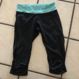 Lululemon cropped leggings